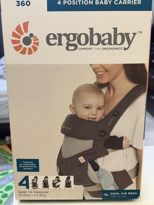 ERGOBABY Four Position 360 - Cool Air Baby Carrier for Sale in Irving, TX