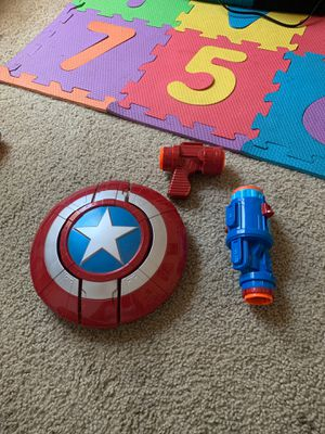 Captain America Nerf Gun Toy for Sale in Whittier, CA