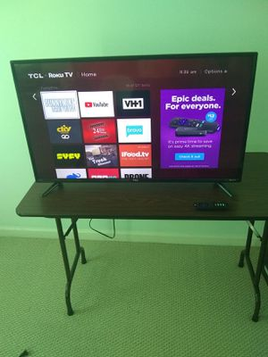 Roku TV 40 inch TCL for Sale in Bethesda, MD