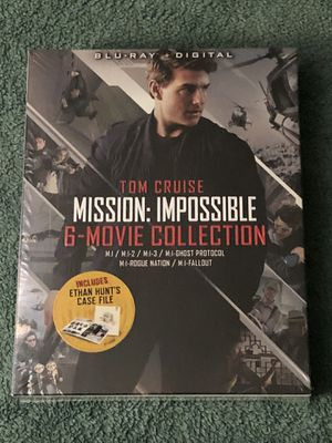 MISSION IMPOSSIBLE 6-MOVIE COLLECTION BLU-RAY SEALED for Sale in Countryside, IL