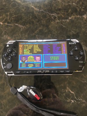 Modded Sony PSP 2001 with games for Sale in Nashville, TN
