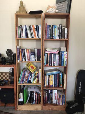 Bookshelves for sale for Sale in Houston, TX
