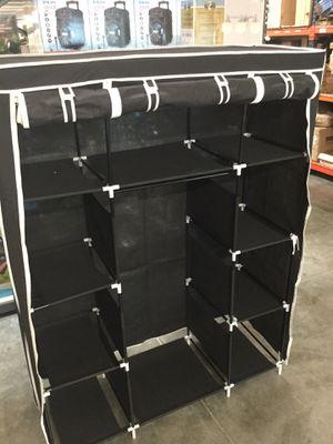 Black Portable Closet Organizer for Sale in Chino, CA