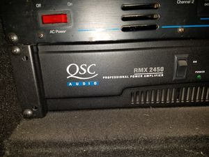 QSC RMX2450 PRO AUDIO DJ AMPLIFIER for Sale in Palm Springs, FL