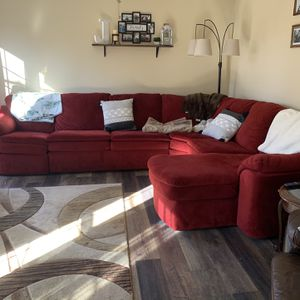 Red Sectional Couch for Sale in Morgantown, WV