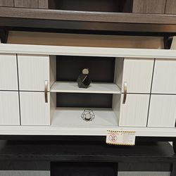 NEW, HOT SALE WHITE TV STAND, SKU#TCB4610 for Sale in Huntington Beach,  CA