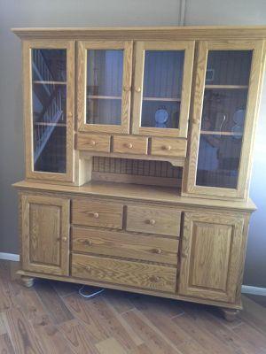 Oak Hutch for Sale in Corona, CA