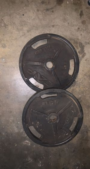 Cap Olympic weights for Sale in Orange, CA