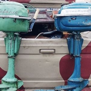 1952 Johnson JW 10 , 1950's Evinrude for Sale in Los Angeles, CA
