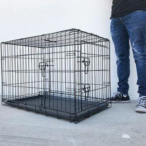 "$45 (brand new) double door 36"" dog cage crate 36x23x25"" for Sale in La Habra Heights, CA"