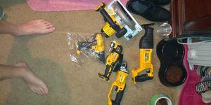 Dewalt circular saw n receprent saw n DeWalt grinder n hammer drill n w XR multi-purpose tool for Sale in Glen Burnie, MD