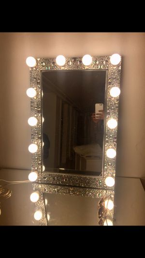 Used, Queen Luxury with LED dimmable lights !! for Sale for sale  Brooklyn, NY