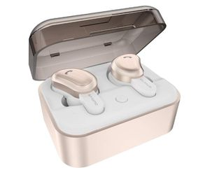 Wireless Earbuds, AMORNO True Bluetooth Headphones in-Ear Deep Bass Noise Cancelling Earphones Mini Sweatproof Sports Headsets for Sale in Rancho Cucamonga, CA