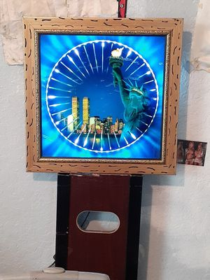 World trade center memorial light up picture for Sale in Lakeland, FL