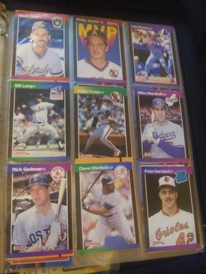 Collectable baseball cards and a few Nascar/Pokemon. for Sale in Midland, NC