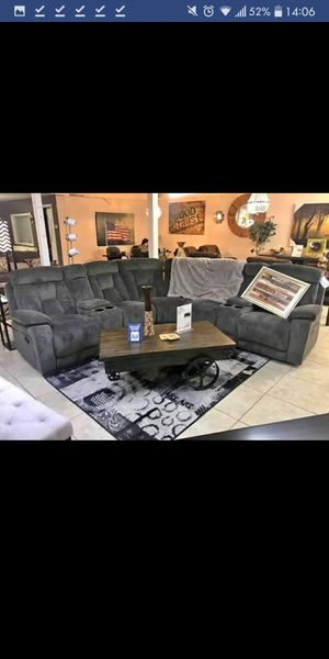 Brand New Grey Recliner Sectional for Sale in Austin, TX