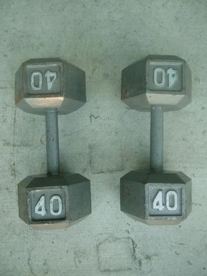 40 pound Dumbbells for Sale in Los Angeles, CA