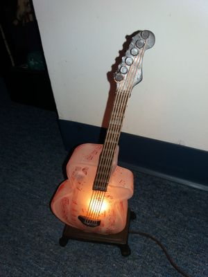 guitar lamp for Sale in Waterbury, CT