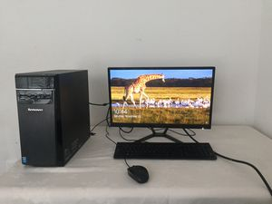 Lenovo H50 Core i3 desktop computer. Price is very negotiable. Everything in the picture is being sold. for Sale in Arlington, VA