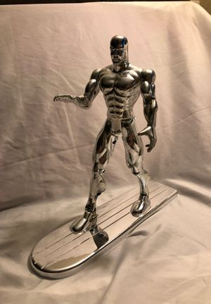 """Toy Biz 1996 Fantastic Four Deluxe 10"""" SILVER SURFER action figure, no packaging for Sale in Romoland, CA"""