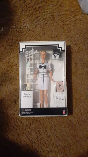 MIB 1999 Barbie Doll See's Candies #27289 for Sale in Chicago, IL