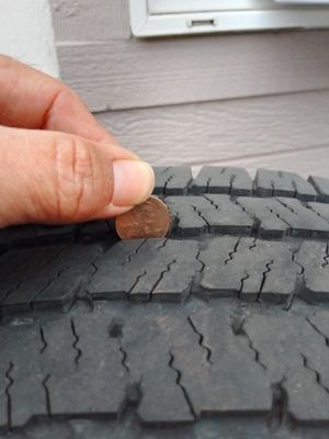 Tires and steel rims LT245/75R16 for Sale in Woodburn, OR