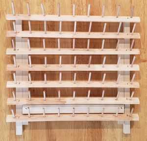 Wooden Thread Rack - Sewing & Embroidery Thread Holder for Sale in Fontana, CA