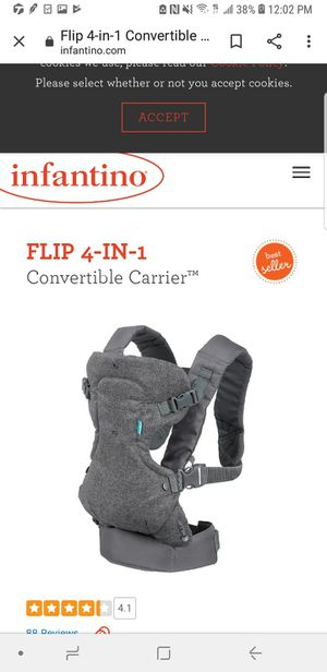 Infantino brand new carrier for Sale in Silver Spring, MD