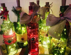 Wine Bottle With Twinkle Lights for Sale in Brea, CA