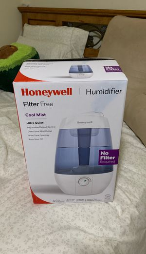 Honeywell Cool Mist Ultrasonic Humidifier for Sale in Silver Spring, MD
