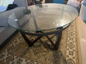 Signature design glass table for Sale in Crofton, MD