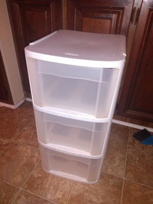 3 drawer plastic storage and other for Sale in La Vergne, TN
