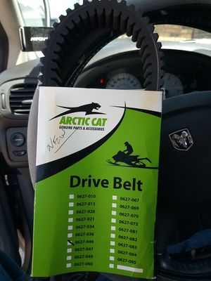 New Arctic Cat Snowmobile Belt 0627-046 for Sale in Lynwood, IL