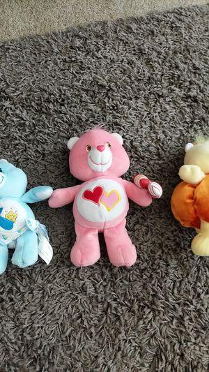 Mini Care Bear Plushies for Sale in Sumner, WA