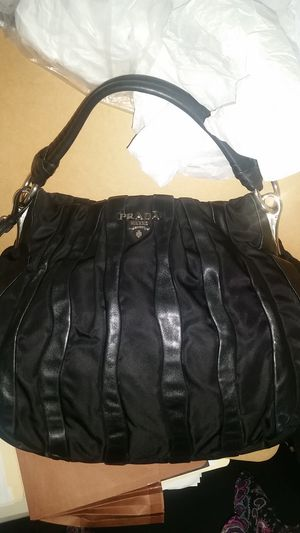 Authentic Vintage PRADA nappa leather hobo bag for Sale in Pflugerville, TX