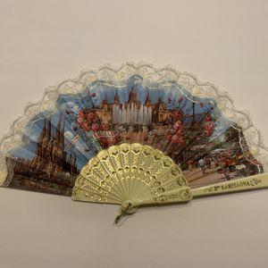 Barcelona Hand Fan for Sale in Orange Cove, CA
