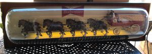 Budweiser horse Clydesdale jumbo vintage beer sign 6 ft long 1968 for Sale in Riverside, CA