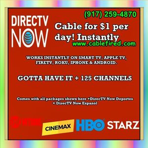 get instant cable today for Sale in New York, NY
