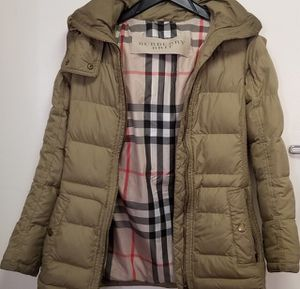 Authentic Burberry Brit coat women's for Sale in New York, NY