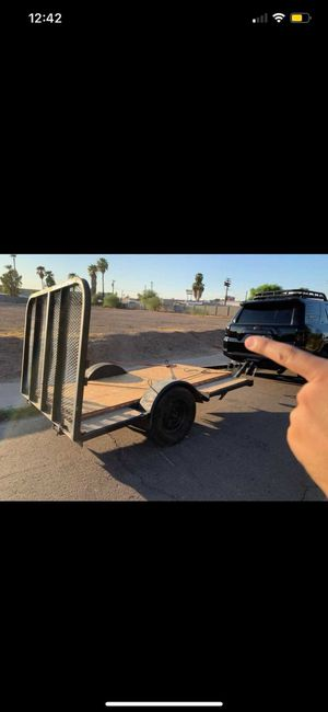 Flatbed trailer 9x7 for Sale in Phoenix, AZ