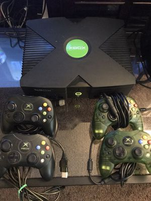 Softmodded Original Xbox 2TB w/ 1000's of Games for Sale in Bakersfield, CA