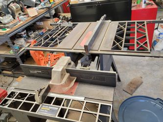 Industrial Router Table And Not Sure What The Other Table Is. $200 Obo for Sale in Port Orchard,  WA