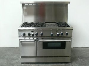 "Thermador Dual Fuel 48"" Range - Gas Stove and Electric Oven for Sale in Sacramento, CA"