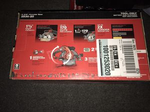 "Milwaukee 5-3/8"" circular saw for Sale in San Leandro, CA"