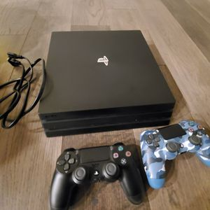 Ps4 With 2 Dual Shock Wireless Remotes for Sale in Alexandria, LA