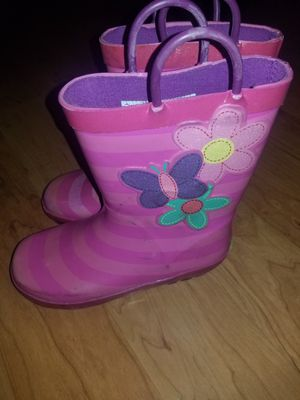 Rain boots Size 12 girls for Sale in Baldwin Park, CA