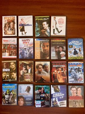 NEW DVDs - unopened for Sale in Boston, MA