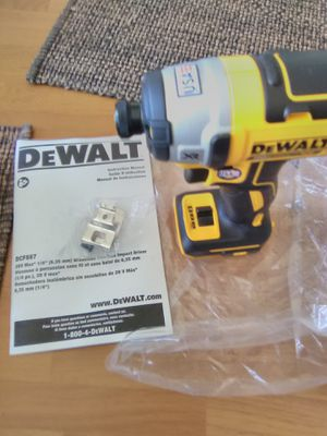 DEWALT 20vMAX XR Cordless Brushless 3-Speed 1/4 in. Impact Driver (Tool-Only) New for Sale in San Diego, CA