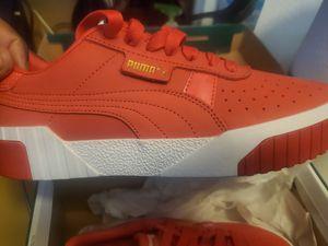 Red Women's Puma Cali Size 8 for Sale in Wichita, KS