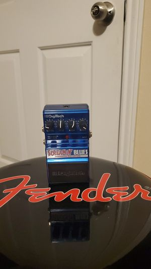 Digitech screamin' blues overdrive pedal for Sale in Crestview, FL